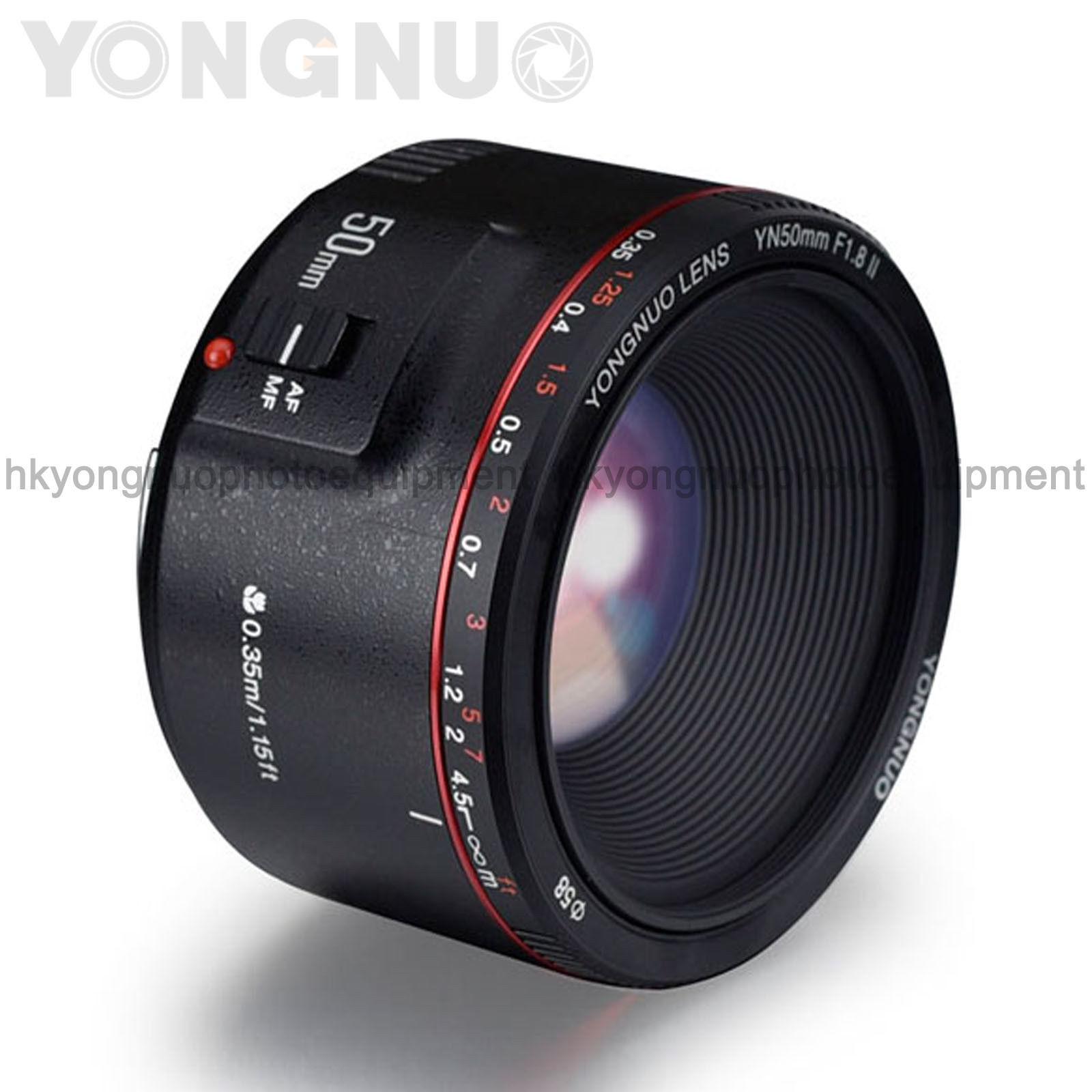 Yongnuo YN50MM F1.8 F1.4 Prime Standard Lens AFMF for Canon Nikon DSLR Camera