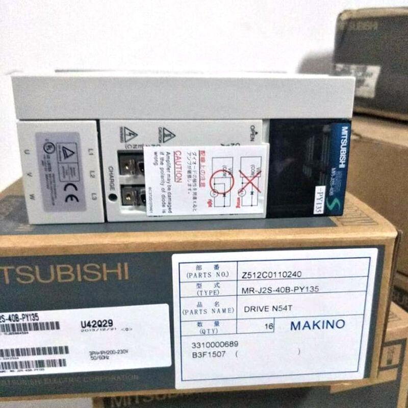 New In Box MITSUBISHI MR-J2S-40B-PY135 MRJ2S40BPY135 Servo Drive