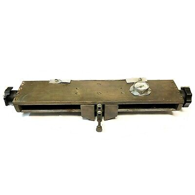 Kwikprint Foil Stamping Embossing Machine 12 X 2 Multiline Typeholder
