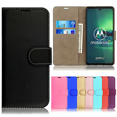 Case for Motorola Moto G5 G6 E5 Play G7 E6 G8 Plus Leather Flip Wallet Cover