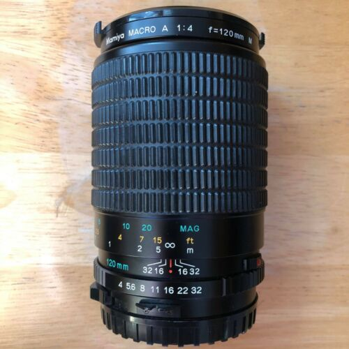 Mamiya 120mm MACRO A f/4 APO Lens for Mamiya 645