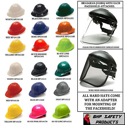 Hard Hat Face Shield | Owner's Guide to Business and Industrial