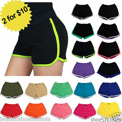 New Women Work Out Casual Exercise Slim Running Yoga Shorts Active Hot Pants