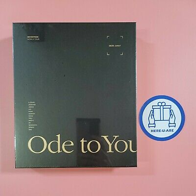 SEVENTEEN - WORLD TOUR ODE TO YOU IN SEOUL DVD Sealed New all pack EXP