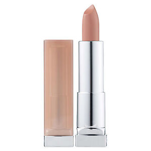NEW Maybelline Color Sensational Stripped Nudes Lipstick #732 Brazen Beige 4.2g