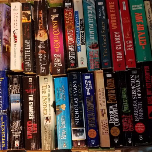 10 BOOKS! Paperback Lot INSTANT COLLECTION FREE SHIPPING General Fiction CHEAP