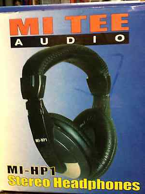 MI TEE AUDIO MI-HP1 HEADPHONES