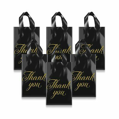 120 Pieces Thank You Merchandise Bags 9 X 12 Inch Retail Shopping Goodie Bag...