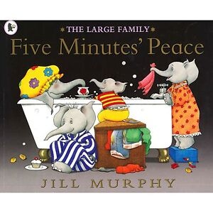 Five Minutes Peace (The Large Family) by Jill Murphy (5) (New Large P/B Book)