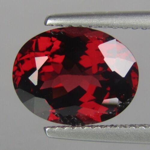 2.65Cts Natural Classic Red Garnet 9x7mm Oval Shape Srilankan Gemstone Rf-VDO