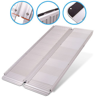 5ft 1.5m FOLDING PORTABLE TRAVEL SUITCASE CAR ACCESS RAMP FOR WHEELCHAIR SCOOTER