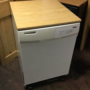 Portable dishwasher cleaned and serviced