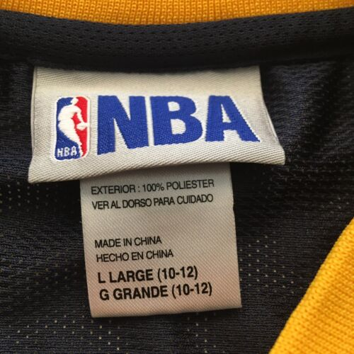Vintage Indiana Pacers Jersey Boys Large Paul George NBA Basketball Blue Sports - $24.99