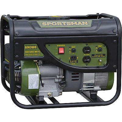 Sportsman Gasoline 2000W Watt Pocket-sized Generator Gas Powered Out-of-the-way Difficulty