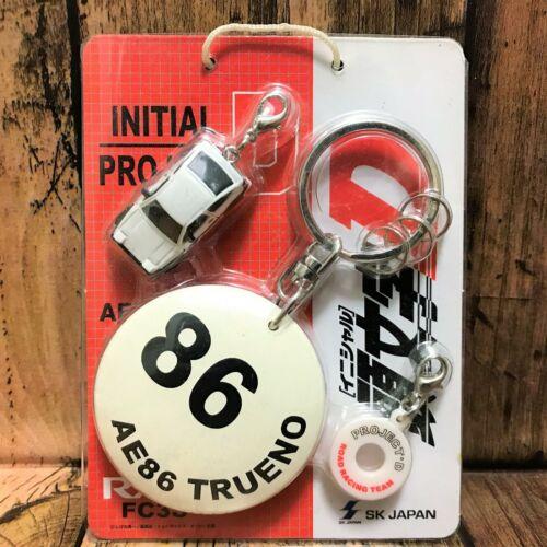 SK Japan Initial D Disk Ball Keychain AE86 Trueno