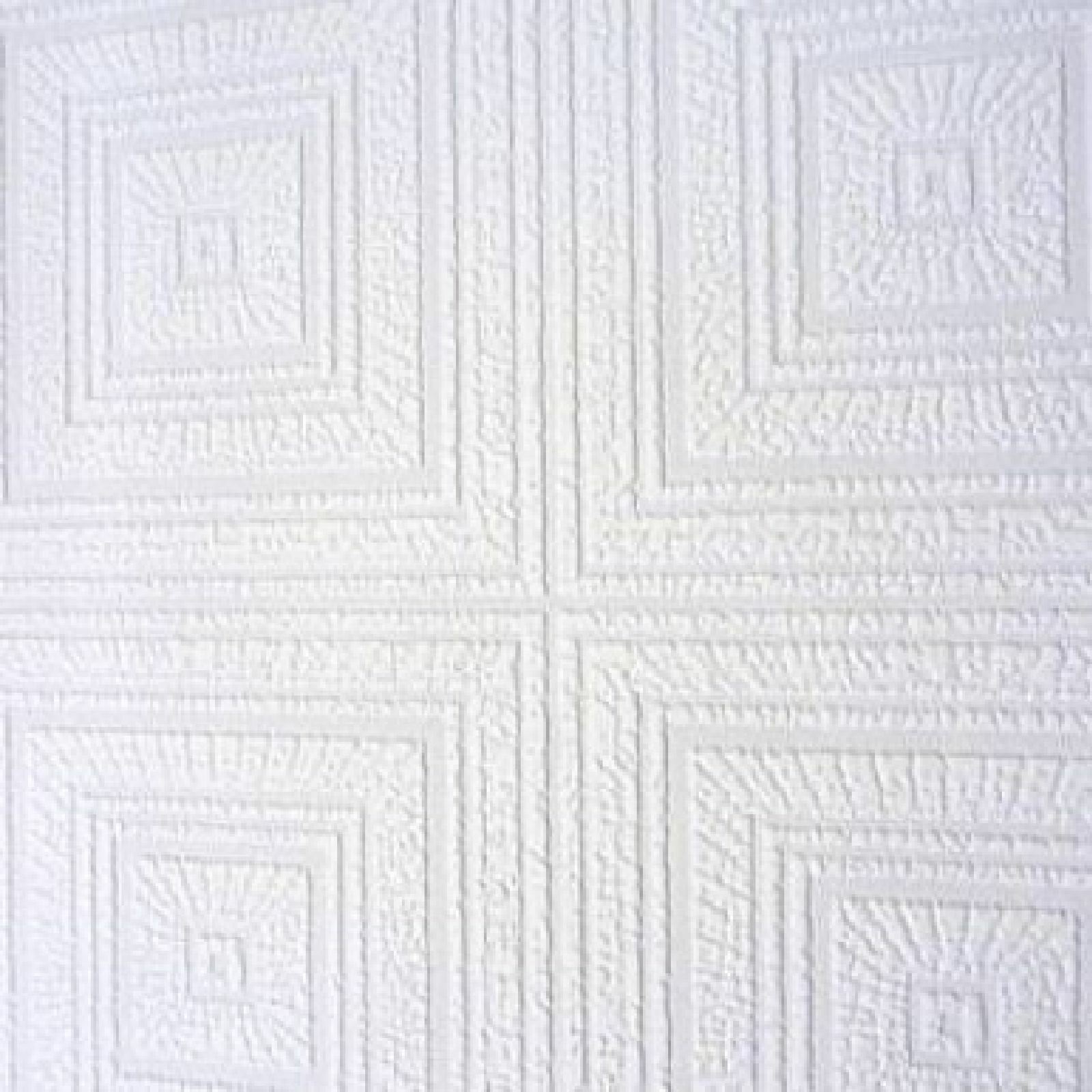 White Blown Vinyl Wallpaper Embossed Textured Patterned
