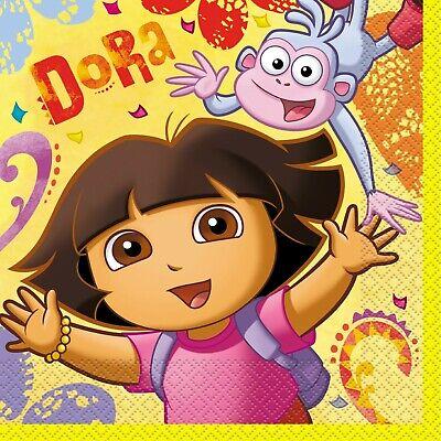 Dora the Explorer Lunch Napkins 16ct Decoration Favor Party Supplies