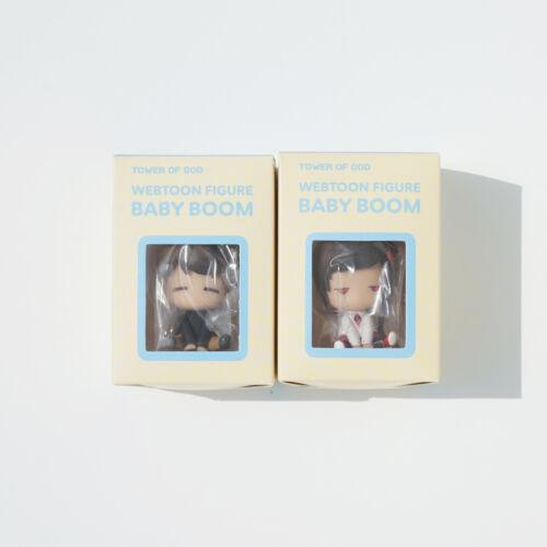 Tower of God Baby Boom Mini Figure Baam+Yuri Set. Korea Webtoon TOG +Free Ship