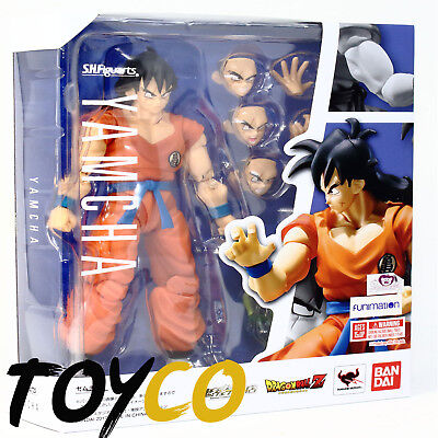 New US SH Figuarts Bandai Dragon Ball Z Yamcha Authentic In Stock Tamashii
