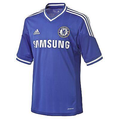8b823415a Fw13 Adidas Chelsea Shirt SIZE M T-Shirt CFC Home Shirt Jersey Official  Z27633