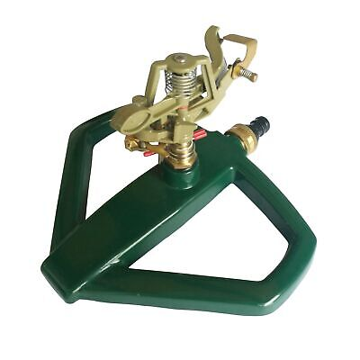 Xclou Impuls 346128 Full-circle and Section Sprinkler with Sled Base Me,Green