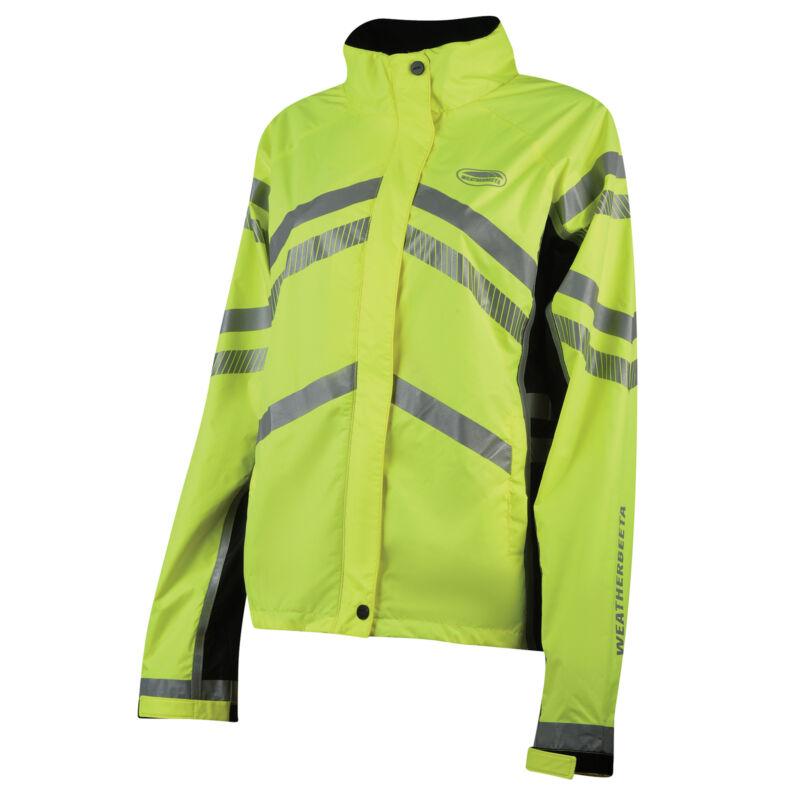 Weatherbeeta Lightweight Waterproof Hi Vis Safety Wear Reflective Jacket -