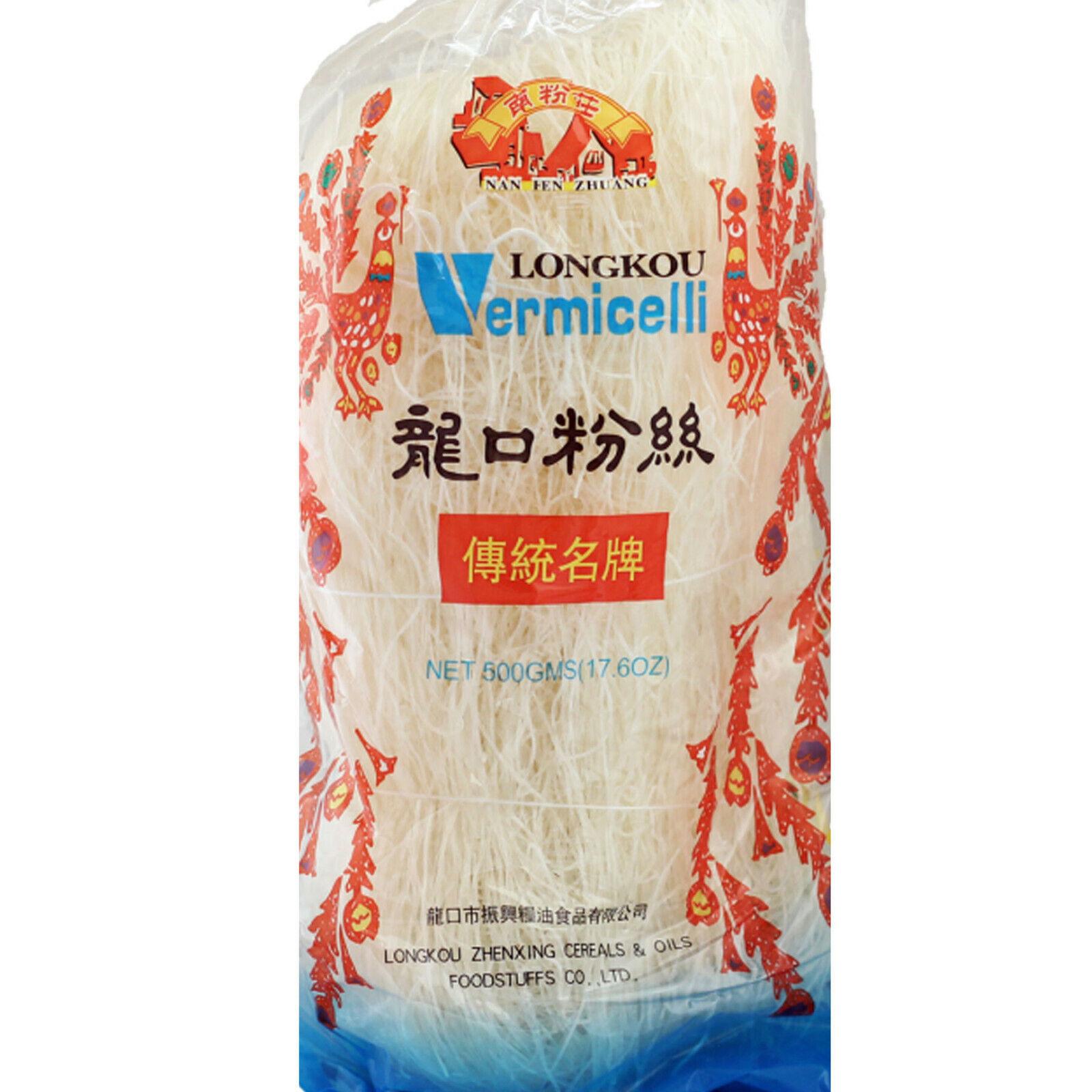 500g Glasnudeln Mungbohnen Vermicelli Longkou Diamond Brand Beans Thread/Sai Fun