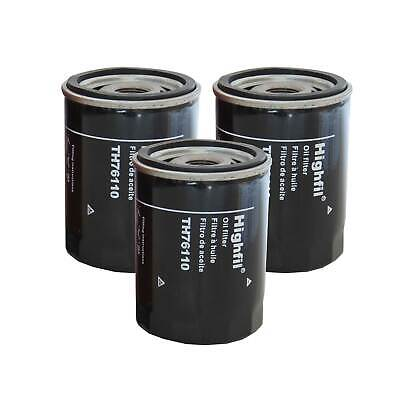 - 3pcs New Premium Spin-On Engine Oil Filter Case of 3 Fit GM Various Models