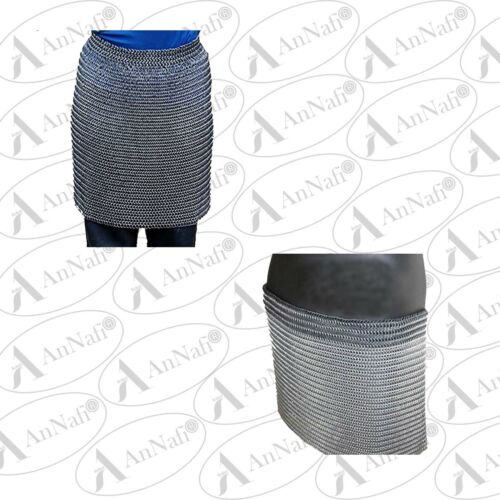 10 MM BUTTED CHAINMAIL SKIRT MEDIEVAL ARMOUR