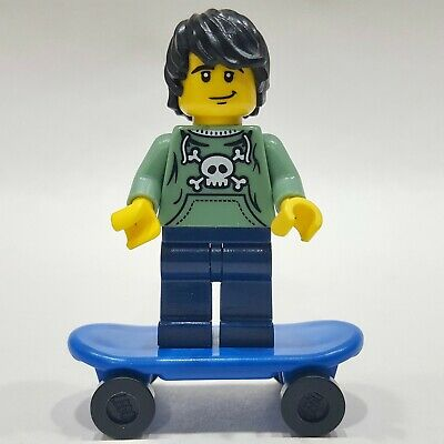 "LEGO Collectible Minifigure #8683 Series 1 ""SKATER"" (Complete)"