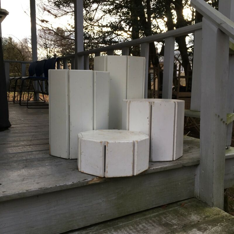 Photography Prop Wooden Block 4-Piece Nesting/Posing Set - Pickup Only!!!