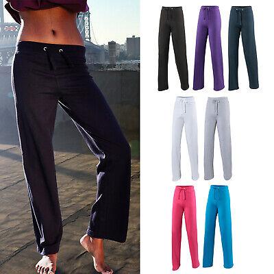AWDis Girlie Sweatpant - Women's Open Hem Leg jogging bottoms |8-14 Womens Open Bottom Sweatpants