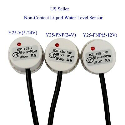 Us Non-contact Liquid Water Level Sensor Induction Switch Detector Y25-vy25-pnp