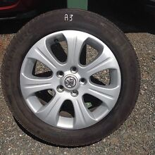 (A3) Holden Astra 60th anniversary rims and tyres 205/55/16 Kelmscott Armadale Area Preview