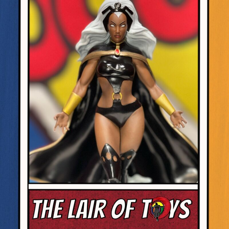 Diamond Select Toys Marvel Gallery Diorama Statue X-Men Storm New In Box.