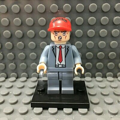 Donald Trump Custom Minifigure Make America Great Again