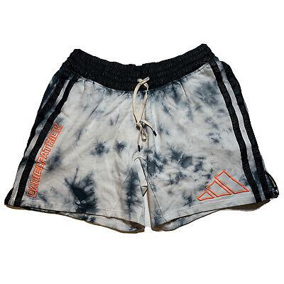 Adidas Daniel Patrick x Harden Basketball Shorts Black White Mens SZ XL FR5637