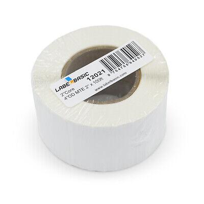 Labels For Primera Lx400 Printer 2 Continuous Label Rolls 100 Ft Matte Blank...