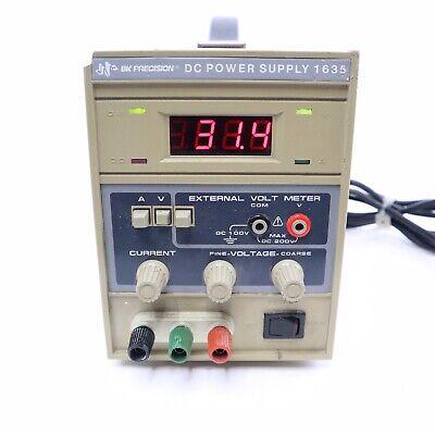 Bk Precision Dc Power Supply Model 1635 Max Dc 200v 120v 5060hz 170w