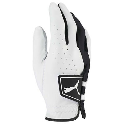 Puma Golf Mens Hybrid RH Leather Breathable Golf Gloves 27% OFF RRP