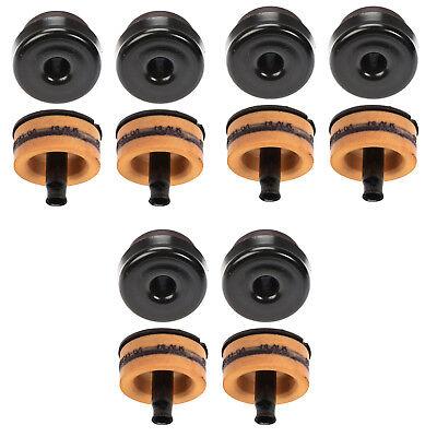 (OEM NEW Upper Lower Right Left Full Frame Insulator Bushing Kit 08-16 Super Duty)