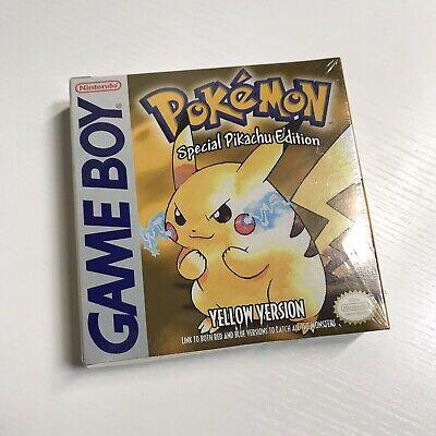 "Pokemon Yellow - Special Pikachu Edition ""Non-ESRB"" Brand New + Factory Sealed"