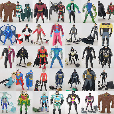 Batman & Superman Animated Action Figures [ MULTI-LISTING ] JLU Returns JLA DC - Batman Action Figure