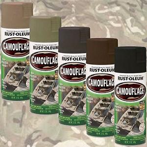 Rust Oleum Olive Drab Spray Paint