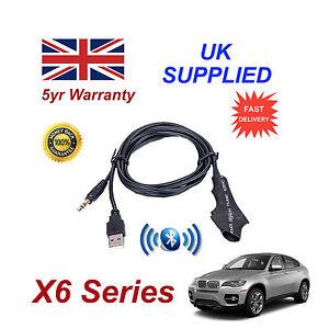 BMW-x-6-Series-Integrado-Bluetooth-Musica-modulo-para-iphone-htc-nokia-samsung