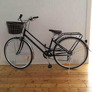 Like-New Vintage-Style Bicycle with Basket Neutral Bay North Sydney Area Preview