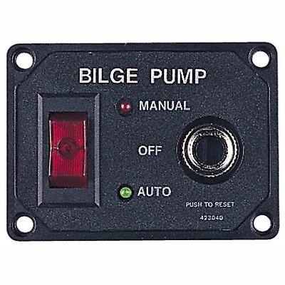 Sea Dog 423040-1 Bilge Pump Switch Panel W/ Circuit Breaker ()