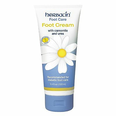 Herbacin Foot Care Foot Cream 100ml 3.4oz