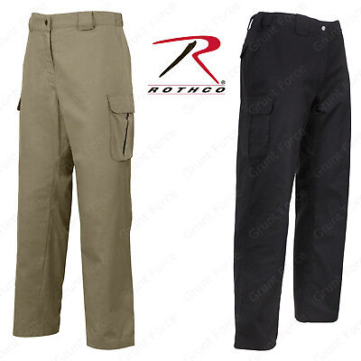 Rothco Tactical 10-8 Lightweight Field Pant - Black & Khaki Men's Duty Pants Black Lightweight Tactical Pants