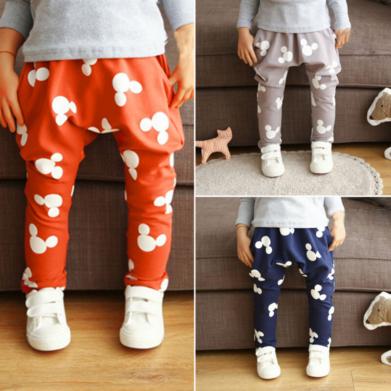 baby boy girl harem sport pants kids